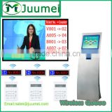 Hospital system bank system hotel touch screen kiosk clinic management system
