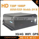 High Definition Car 3G /4G Mobile Dvr With GPS Wifi For Taxi / School Bus And Truck                                                                         Quality Choice