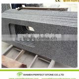 Natural Stone G640 Granite Kitchen Counter Top With Slab Tiles