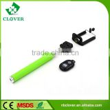 Wireless remote control extendable baton selfie stick monopod