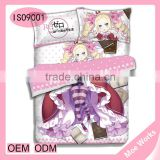 Re: Life in a Different World from Zero Beatrice Anime 4pcs queen size duvet cover bed sheet set fashion|