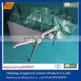 PE material green dustproof and waterproof sun lounger cover