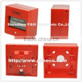 Red color , square ,call point / manual call point / break glass manual fire alarm call point