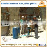 Waste gasification / wood gasification boiler