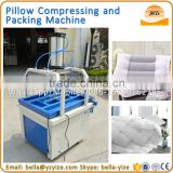 Factory price pillow quilt compress packing machine,pillow compress pressing machine for easy transport,pillow packaging machine
