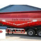 cement bulk/powder semi trailer with 3 axle cement bulker