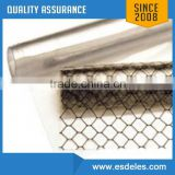 Transparent Grid Honey Comb PVC ESD Curtain with Conductive Ink
