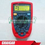 UNI-T UT33B Palm Size DC/AC Voltage DC Current Resistance DMM Digital Multimeters with Battery Test Multimetro