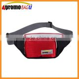 2015 Top quality polyester money belt sport waist bag with RFID blocking