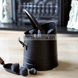 Fireplace Accessorie Galvanized/Iron coal bucket
