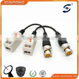 Coax CAT5 To CCTV Coaxial Camera BNC Male Video Balun Connector