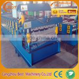 Used Electronic Steel Double Layer Roll Forming Machine