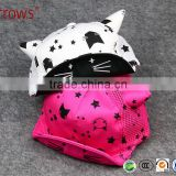 Cute Fashion Baby Hat Cap With Bull Horn and Cat Pattern