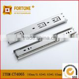 40mm width full extenison 3-fold telescopic ball bearing drawer slide drawer rail drawer runner