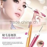 Battery use electric eyelash curler