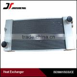 air cooled aluminum tube fin excavator water radiator E307 aftermarket replacements in stock