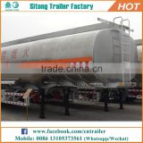 3 axles 30-45cbm stainless steel fuel tanker trailer dimensions diesel trailer for sale