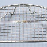 Made in Japan EBM 18-8 Stainless Steel Semi Circle Tonkatsu Net Fried Food Insert