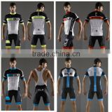 OEM service Custom Sublimation club cycling jersey set, fashionable & professional cycling jersey