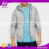 2016 guangzhou shandao winter casual plain dyed viscose cotton slub tech fleece brushed zipper up custom embroidery hoodies men