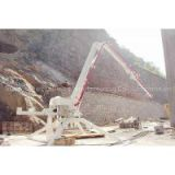 Spider concrete placing boom