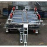 WITH TRACTION DEVICE stock storage cage  storage box(FOR market or warehouse) manufacturer direct sales  high qulity and low cost
