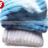 micro plush fleece blanket brush straight blanket wholesale cheap baby blanket