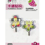 colorful decorative plastic hanging hook