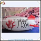 PVC inflatable helium blimp, advertising helium floating airship, printing helium balloon for promotion