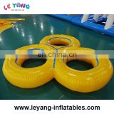 Inflatable swim ring Water Game Water Toy for Outdoor Sports