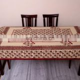 Table cover with napkin for six seater Pcs table. Indian Block Print dining Table Cloth, Table Cover Ethnic decorative vintage
