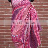 Custom 100% Cotton Printed Beach Scarf for Promotion & Retail Sale