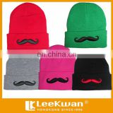 cartoon mustache embroidery applique patch