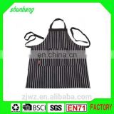 2015 black color design men hair cutting work apron