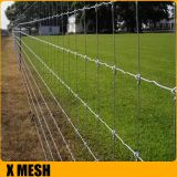 Q235 Iron Rod Woven Wire Field Fence Hot - Dipped Galvanized Solid Structure
