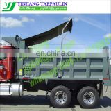mesh Tarps system for dump truck beds and trailers