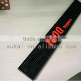 Factory supply custom branded rubber waterproof bar spill mat