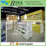 cheap wooden used pharmacy display stand equipment for sale