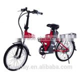 Pedals Assisted Electric Bike, Foldable Electric Bike
