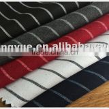 2015 new design popular yarn-dyed TR fabric for suits with high quality