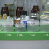 10g frosted mini glass jars with aluminium cap ,buy small glass jars , 10g frosted glass cosmetic jars wholesale