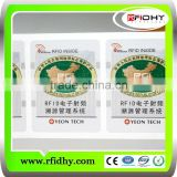 Asset tracking management 14443A HF Ultralight inlay for adhesive paper label HF rfid inlay/rfid wet inlay