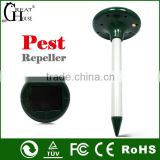 Multifunctional solar animal repeller best selling ultrasonic anti rodent in pest control GH-316