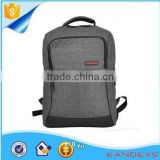 wholesale factory price in stock canvas durable leisure backpack,shoulder laptop backpack