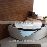 2 Person Indoor Whirlpool Jetted Hot Tub SPA Hydrotherapy Massage Bathtub