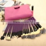EALIKE 26pcs cosmetic brush set,horse hair cosmetic brush