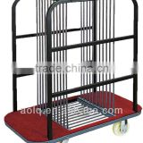 Hotel Banquet Glass Turntable Trolley/Furniture Moving Trolley