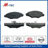Toyota Genuine parts of brake pad OE NO. 04465-YZZ56 used for Camry