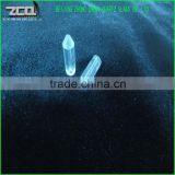 Polishing Clear Quartz Glass Rod With Cone-Shape In The Ending