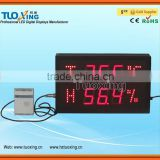 2.3 inch 6 digits egg incubator temperature humidity controller